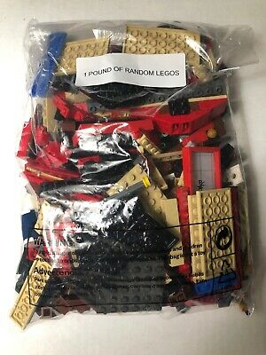 Lego 1 Pound LBS Parts & Pieces HUGE BULK LOT bricks blocks