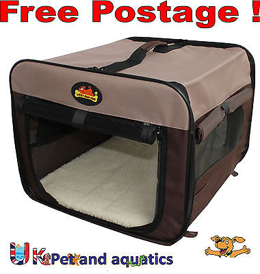 "Canvas Pet Carrier, Dog, Cat, Small Animal Carrier 18"",26"",32"",38"",44"" Sizes"