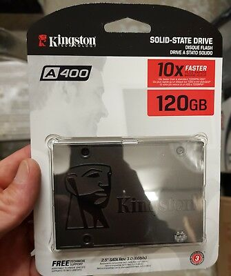 SA400S37/120G Kingston SSDNow A400 - Solid state drive 120 GB internal 2.5 SATA