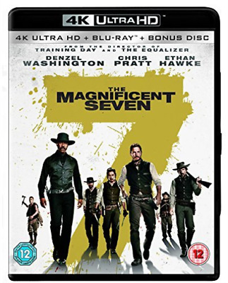 Magnificent Seven The DVD NUEVO