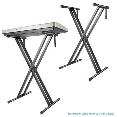 X-Shape Double Tube Metal Electronic Piano Stand WT88