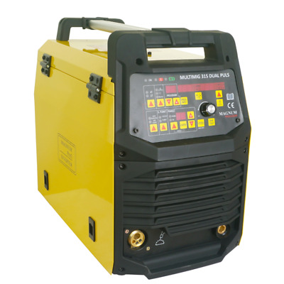 MAGNUM MIG 315 semiautomatic welding machine with PULS function 300A SYNERGY