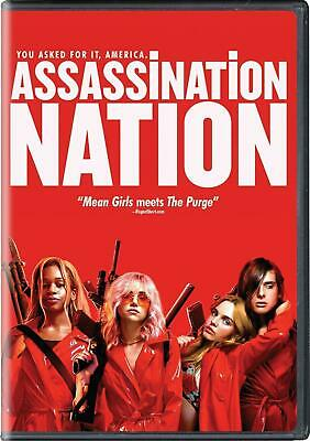 Assassination Nation DVD (region 1 us import) USED, IN GOOD CONDITION.