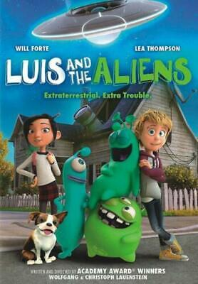 Luis and the Aliens DVD (region 1 us import) USED, IN GOOD CONDITION.
