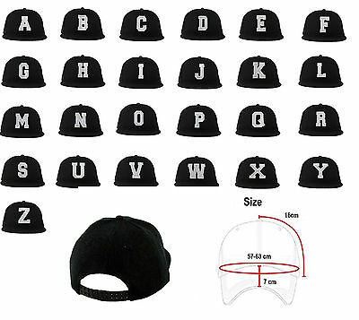 Mens Classic From A to Z Adjustable Baseball Caps - WORK CASUAL SPORTS LEISURE