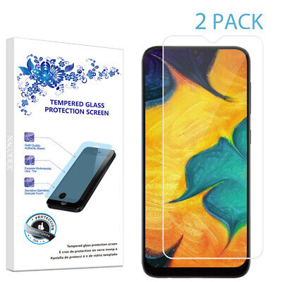 2-Pack For Samsung Galaxy A10 2019 Tempered Glass Screen Protector