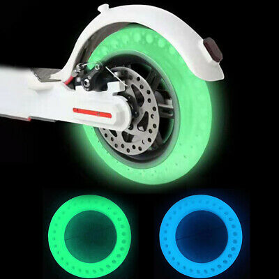 For Xiaomi M365 Scooter Fluorescent Solid Wheel Tyre Tire Durable   Stable