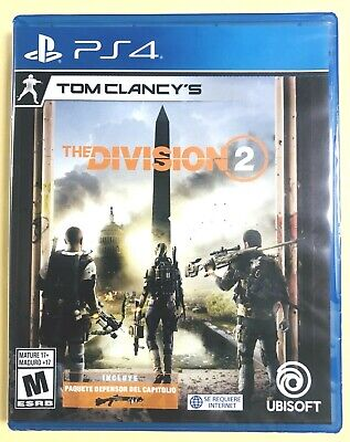 Tom Clancy's The Division 2 PS4 Playstation 4