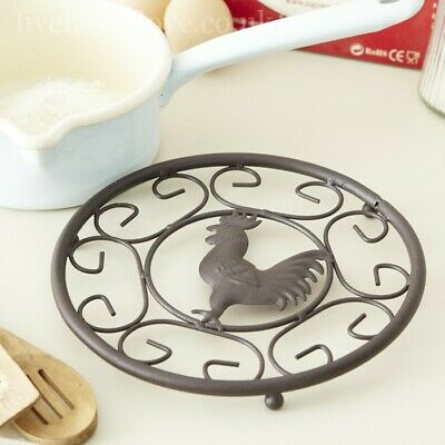 Cast Iron Trivet - Cockerel Design