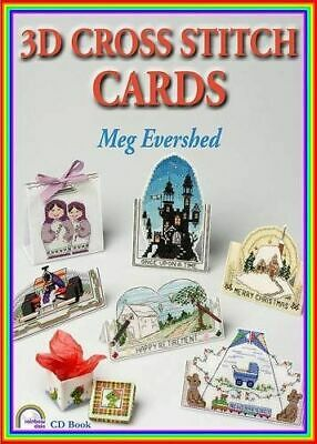 3d Cross Stitch Cards Evershed  Meg