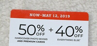 Shutterfly 50% off Hardcover Photo Books & 40% Off Coupon Code Expires 5/12/19