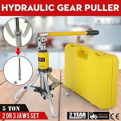 5 Ton Hydraulic Bearing Gear Puller Alloy Steel 3 Jaws 4 Hooks Output