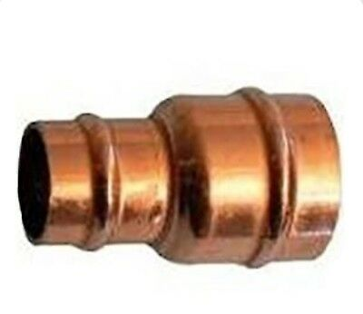 35mm x 22mm  Solder Ring Fitting Female x Female Reducer Pipe to Pipe