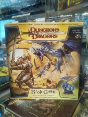 D&D 3.5 Basic Game Dungeons & Dragons Complete Includes Blue Dragon
