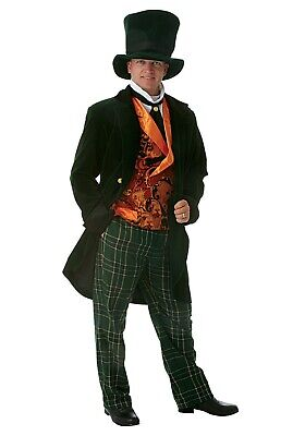 5bec6352c90 ADULT WIZARD OF OZ   MAD HATTER DELUXE COSTUME SIZE XL (with defect)