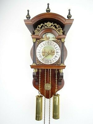 Dutch Vintage Sallander Wall Clock REPAIR (Warmink Wuba Zaanse Junghans era)