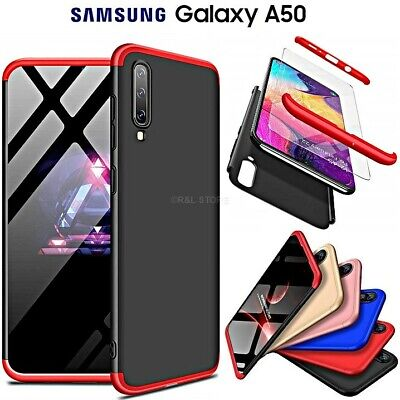 COVER per Samsung Galaxy A50 CUSTODIA Fronte Retro 360° ORIGINALE ARMOR Case