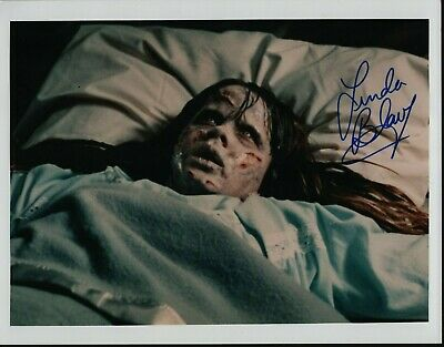 "LINDA BLAIR Hand Signed Autographed 8x10"" Photo w/COA - THE EXORCIST"