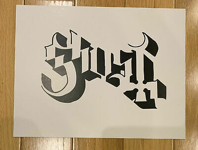 Ghost Band Papa BC B.C. Halloween Stencil Official Rats Prequelle Ghouls