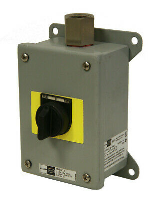 Killark 8040/12 Hand-0-Auto Switch Box Pushbutton