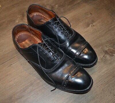 76aa757110cd0 Allen Edmonds For Brooks Brothers Black Oxford Cap Toe Made in USA Size 10.5  D