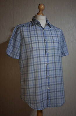 3221a3de Hugo Boss Green Label Short Sleeve Check Shirt