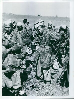 - 8x10 A group of soldiers near Vilno Poland/'s underground army January 1944