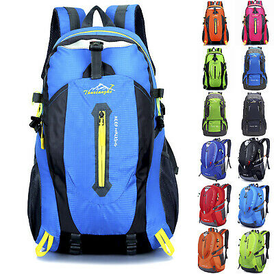 Extra Large Travel Backpack Hiking/Camping Rucksack Luggage Dual Access Bagcover
