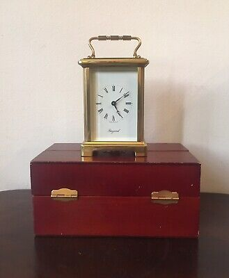 Bayard French Carriage Clock, Boxed