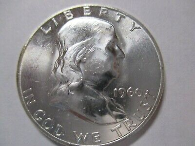 Uncirculated 1960 Franklin Half Dollar