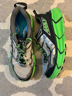 Hoka One One Challenger Atr Running Shoes Mens Size 8 Green Black Well Loved!