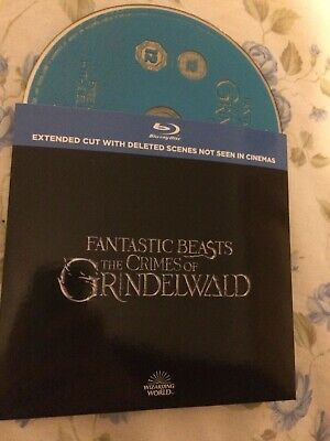 Fantastic Beasts The Crimes of Grindelwald Blu-Ray Extended Cut Region B