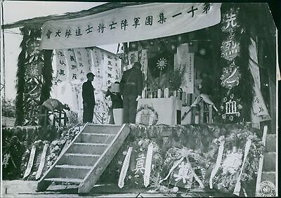 Chinese officer honors his nations dead in Salween offensive against Japanese -