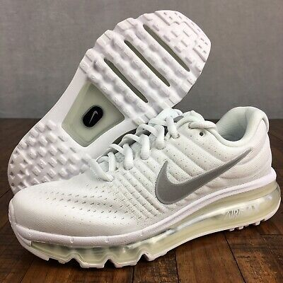 a80b330557 Nike Air Max 2017 GS Running Casual White 851622-100 Youth Size 4.5 or  Womens