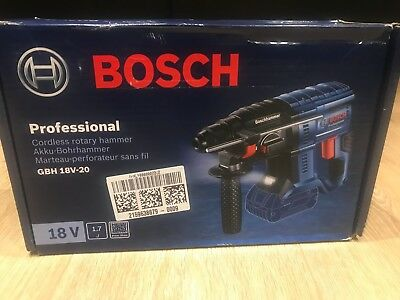 BOSCH GBH 18 V-20 SDS plus 3 function hammer drill Bare Unit