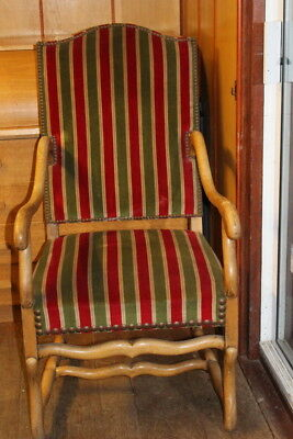 Vintage French Louis Xv Style  Armchairs Refurbished All Comfortable
