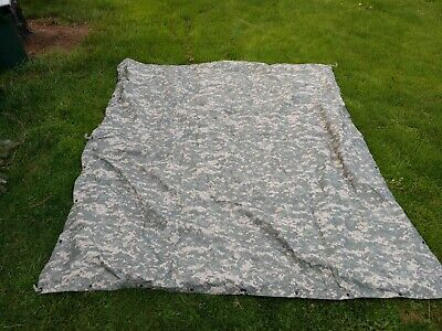 ACU Grade A Tarp USGI Surplus-- genuine real deal NSN #8340-01-600-4807