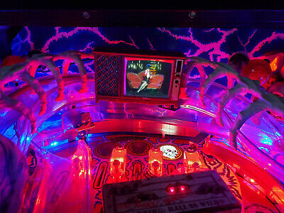 Scared Stiff Pinball mod - TV with FULL VIDEO playback! NEW 2019 version!