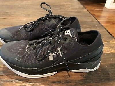d08a5a14735 Mens UNDER ARMOUR Steph Curry 2 Charged Low Basketball Shoes. Size 12.Worn  Once