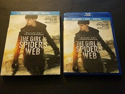 The Girl in the Spiders Web blu ray with slip cover