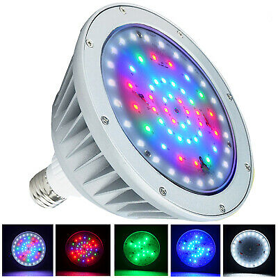 12V/40W 120V/40W RGB Swimming Pool LED Light Color Changing for Pentair  Hayward