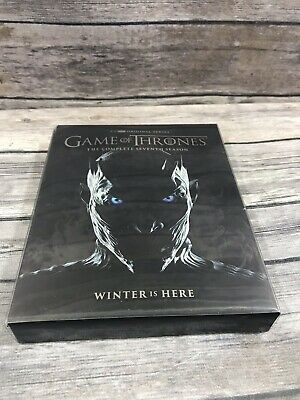 Game Of Thrones Complete Seventh 7th Season 7 Blu-Ray Disc Set *No Digital