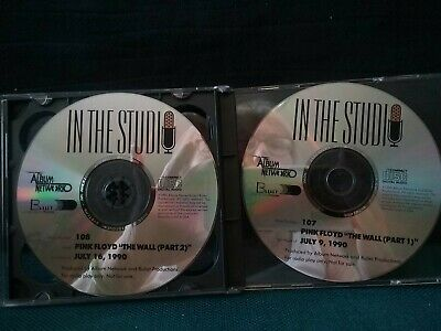 Pink Floyd The Wall In The Studio 2 CD 1990 Shows 107 & 108 W/ Program Cue Sheet