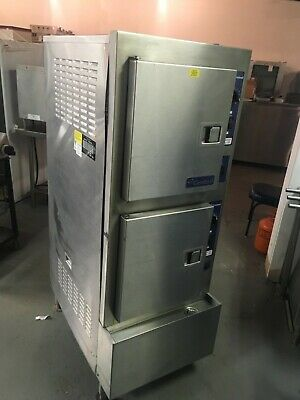 Cleveland 24CEA10, 10-Pan Floor Electric Convection Steamer, SteamCraft Ultra 10