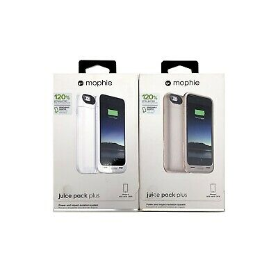 NEW Mophie Juice Pack PLUS 120% Battery Case for iPhone 6 & 6S