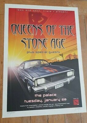 Queens Of The Stone Age Tour Poster Palace Australia 2003