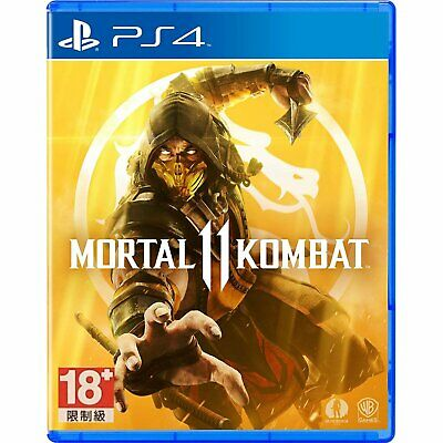 Mortal Kombat 11 For Sony Playstation 4 PS4 (English Voice, English/Chinese Sub)