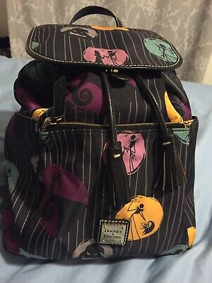 4d9c91b58bc Disney Dooney   Bourke Nightmare Before Christmas Jack Sally Oogie Backpack  Nwt