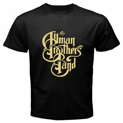 New THE ALLMAN BROTHERS Band Rock Blues Men's Black T-Shirt
