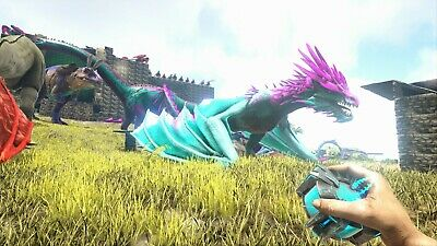ARK SURVIVAL EVOLVED Cloned Blue/RED/Orange Wyvern PVE-Xbox ONE